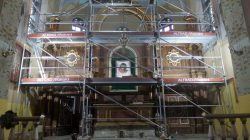 Remont ołtarzy w Kościele w Batorzu