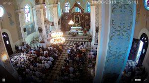 Kościół w Batorzu - Transmisja